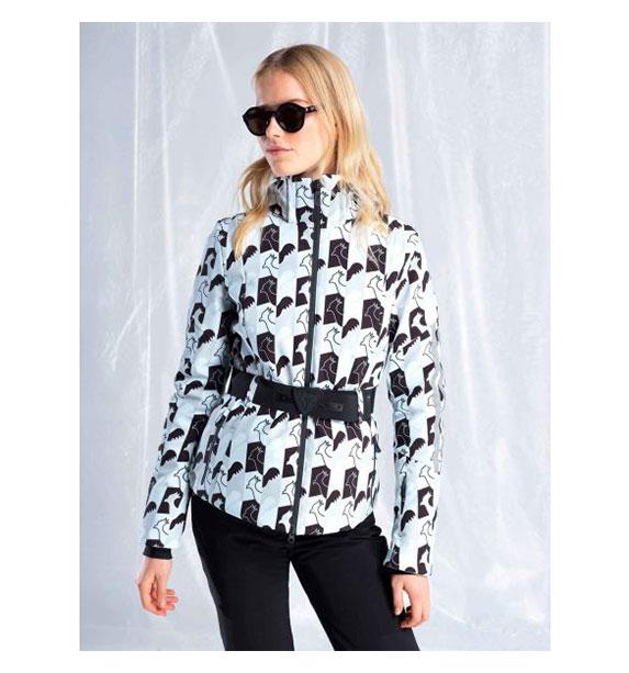 Rossignol W ELLIPSIS PR JKT dámská bílá lyžařská bunda