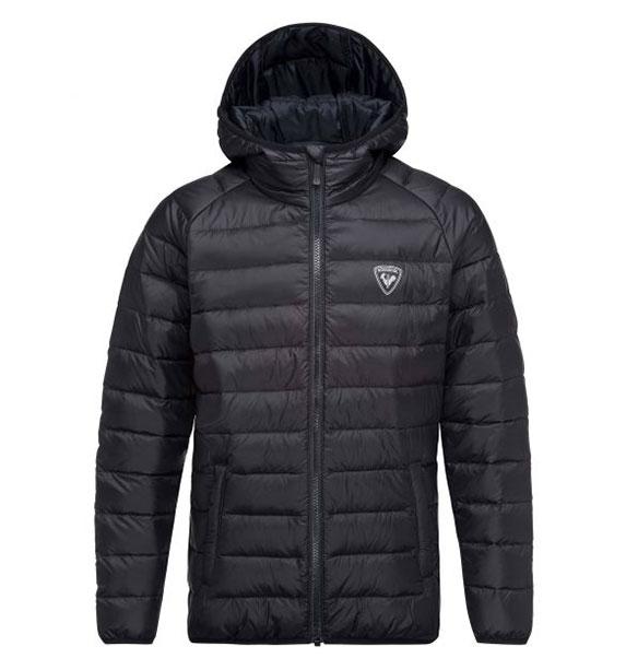 Rossignol BOY LIGHT JKT Black chlapecká zimní bunda