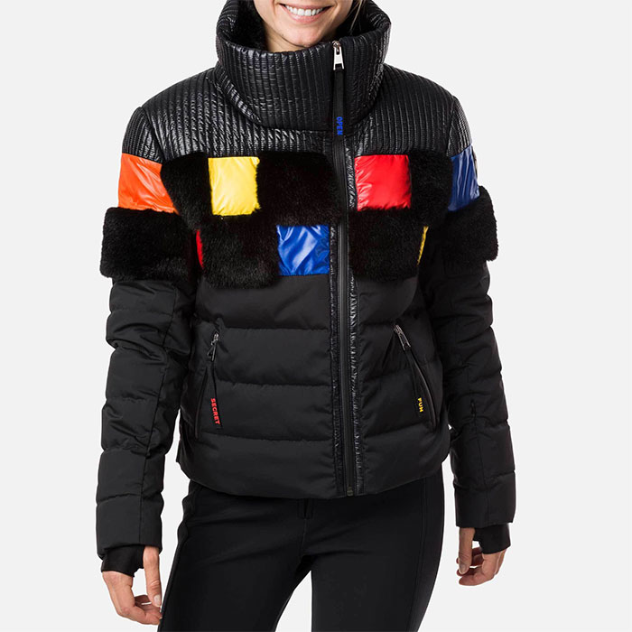 Rossignol Woman RO-W SQUARI DOWN JKT dámská zimní bunda